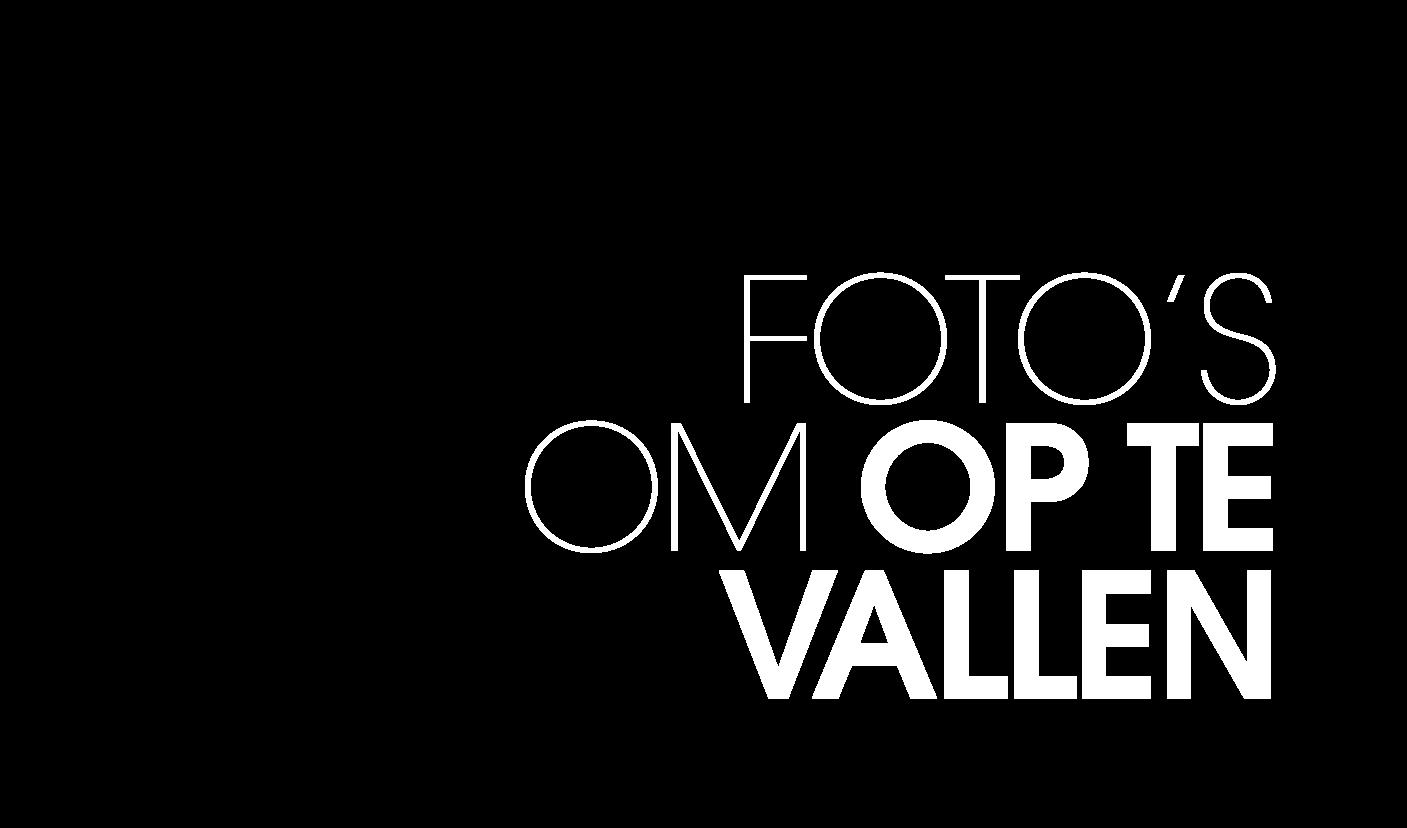 Fotos om op te vallen